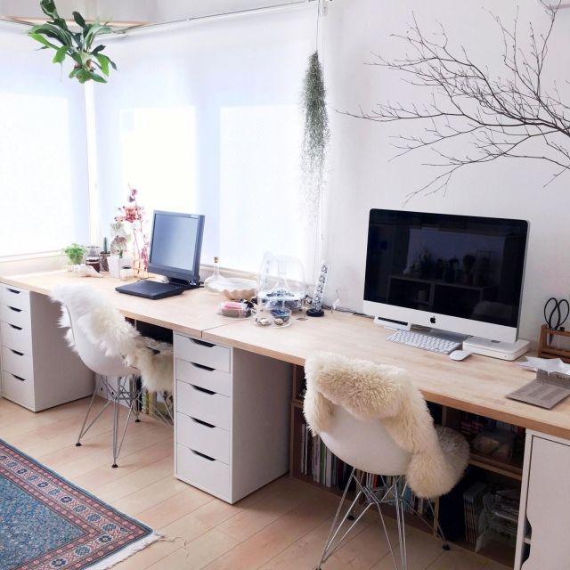 Exemple intérieur de bureau / salle avec Mac / Mac / Alex / LUDDE …- 2015-09-30 23:04:21   RoomClip