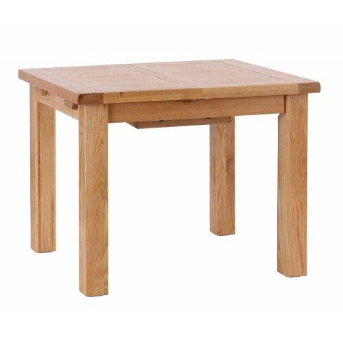 Extension Dining Table 1.0 – 1.4.  Meubles traditionnels en chêne massif aux li…