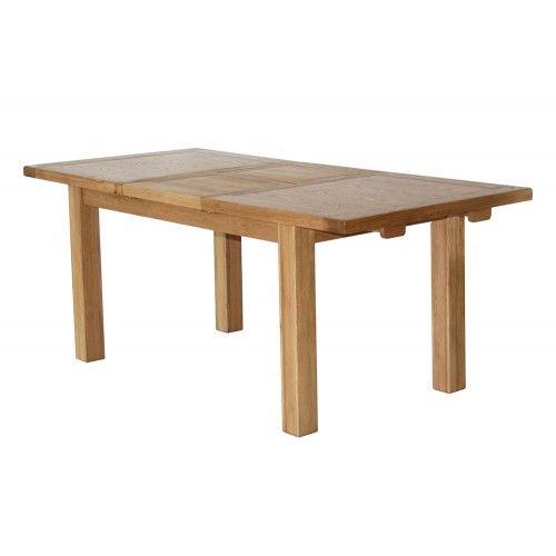 Extension Dining Table 1.5 -2.0.  Meubles traditionnels en chêne massif aux lig…