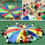 FP Enfant Jouet Rainbow Arc-en-ciel Parachute Parapluie Extérieur  #jeux #jouet...