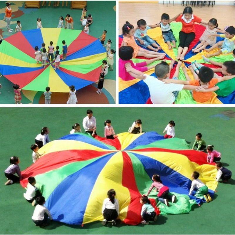 FP Enfant Jouet Rainbow Arc-en-ciel Parachute Parapluie Extérieur  #jeux #jouet…