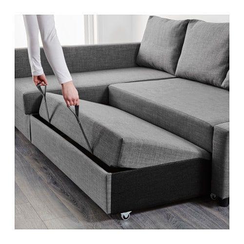 FREEDOMS Sectionnel 3 places assises avec rangement – Skiftebo gris foncé
