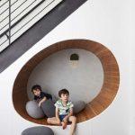 Frederick Tang Architecture a conçu la rénovation d'une maison de Brooklyn