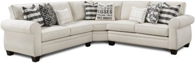 Fusion Popstitch 3-Piece Sectional | Homemakers Furniture