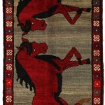 Gabbeh - Qashqai Tapis Persan | gbh2914-381