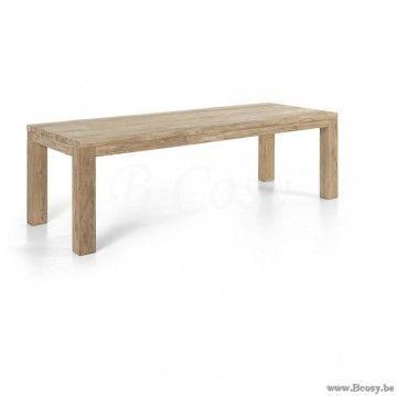 Gescova Primitive I table à manger | Solide Naturel Rectangulaire Ancien en …