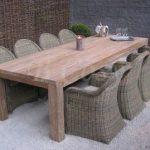 Gescova Primitive II table à manger | Solide Naturel Rectangulaire Ancien en ...