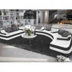 Grand Canapé XXL design Nilla en forme de U