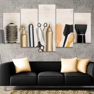 Hair Salon Multi Panel Canvas Wall Art