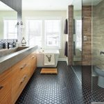 Heureux contrastes dans la salle de bain - Je Décore