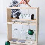 Idées cadeaux pour les hommes: casier à vin de bricolage