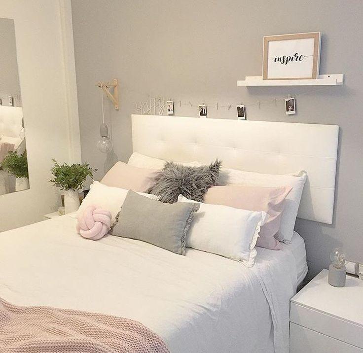 Idées de chambres grises, du plus glamour au plus moderne