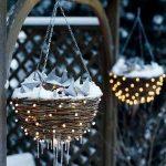 Idées de décoration extérieure avec des lumières de Noël | DigsDigs