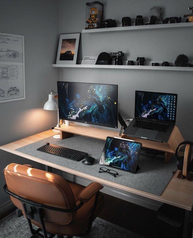 Idées de décoration pour le bureau à domicile. Par conséquent, le besoin de bureaux à domicile.Si vous