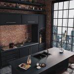 """Idées de design d'intérieur sur Instagram: """"Cuisine industrielle par Caroline Kincheski"""