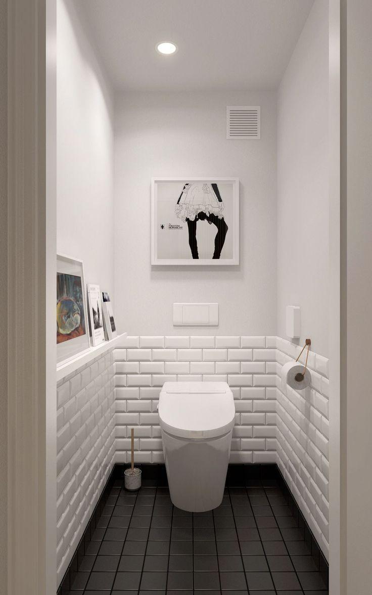 Idées de design scandinave pour les salles de bain avec des ombres de couleur blanche que vous … – Aménagement de maison: idées de design et de décoration