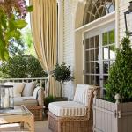 Idées de solarium pour le porche extérieur de la maison # Planter un plan