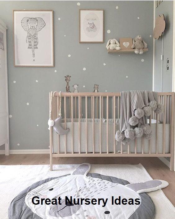 Idées étonnantes pour les pépinières #cutebabyroom #babyroom