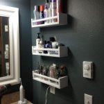 Idées pour rester dans la salle de bain - Rangement pour petites salles de bain