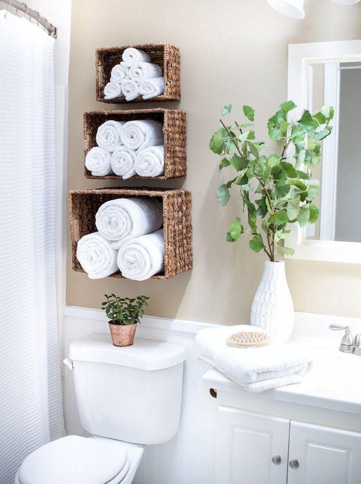 Incroyable petite salle de bain dans des idées de petit appartement – #apartment #appartem …