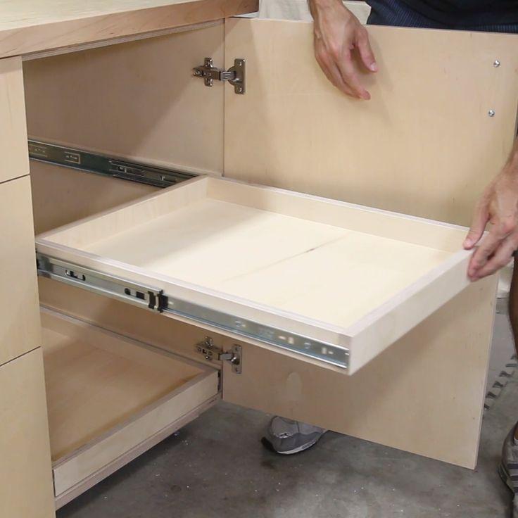 Installation de tiroirs ou d'étagères coulissantes dans un meuble – #delete …