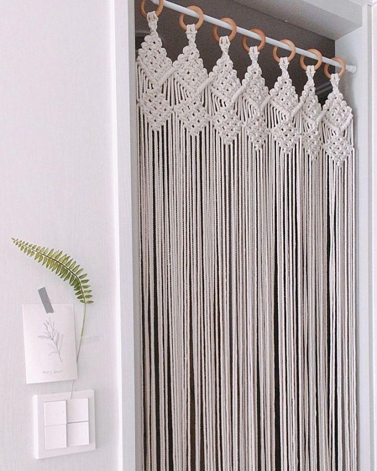 Je pourrais le faire pour mon placard sans porte – #Closet #doorless #rideau