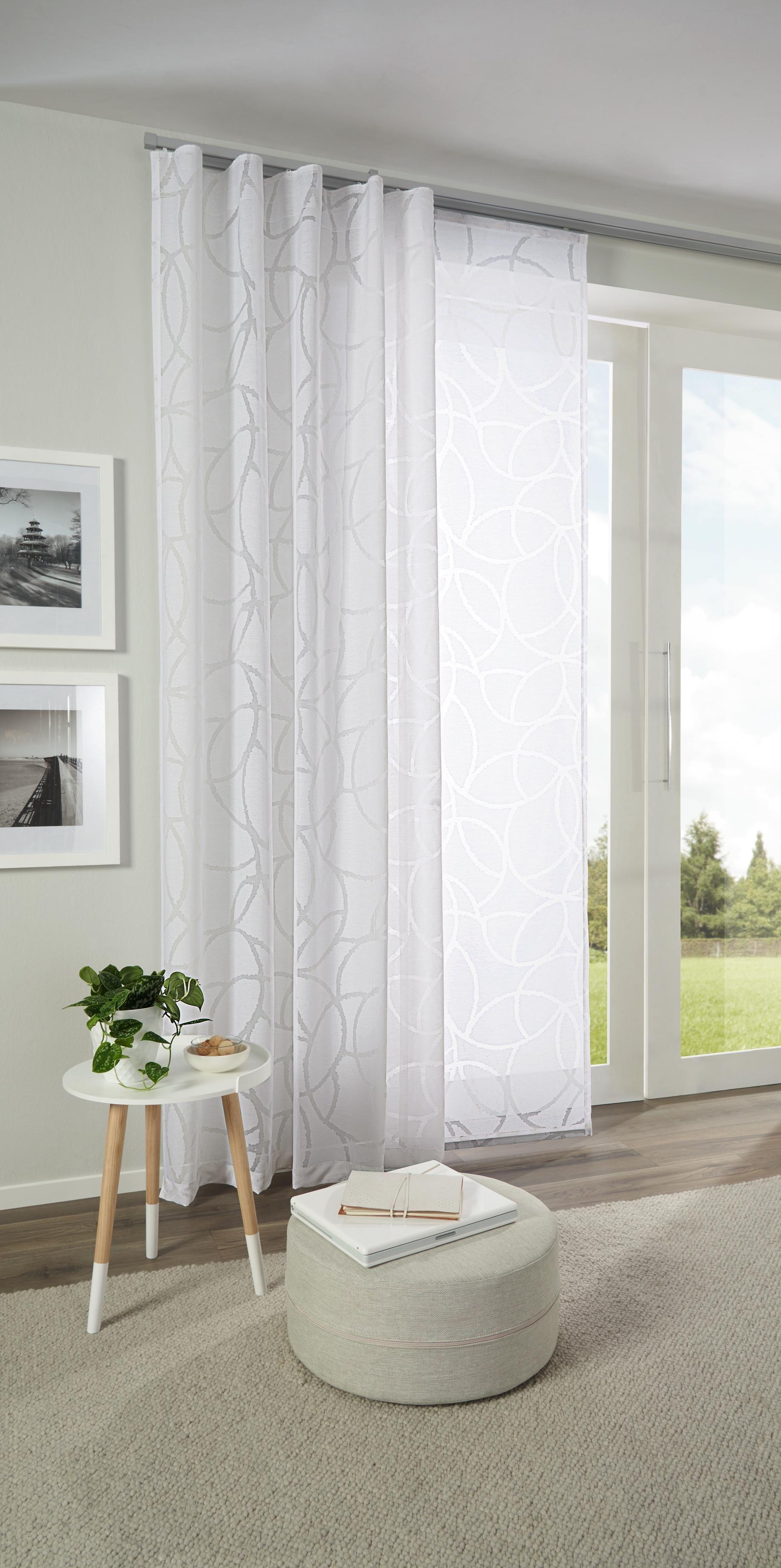 Joli rideau à motif délicat en blanc de ESPOSA