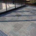 Kandla Gris Indien De Grès De Pavage De Pierre Naturelle Drapeaux De Patio Dalles De Jardin |, #Flags #Gard ...