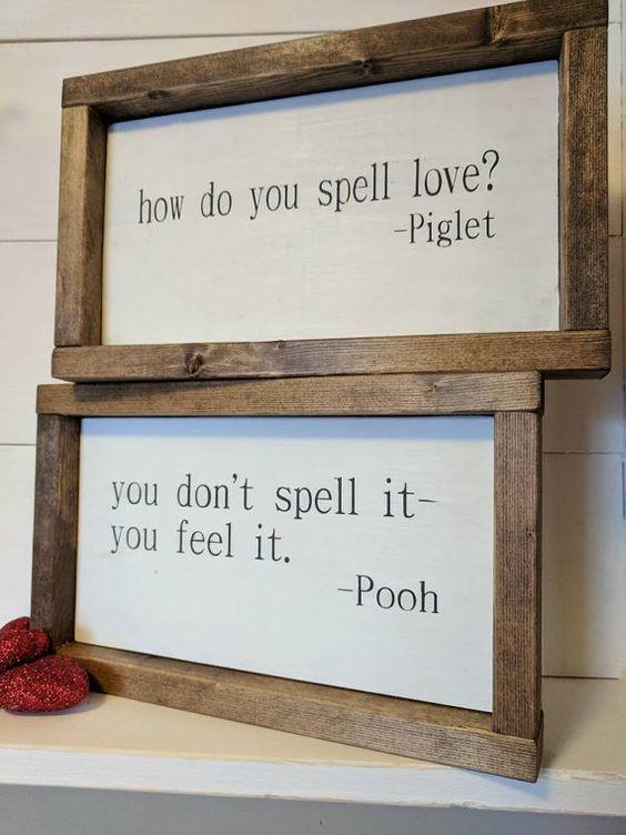 LA FERME ORIGINALE a inspiré Winnie l'Ourson et son Porcinet: comment épelez-vous l'amour?