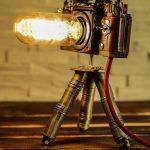 LAMPE APPAREIL PHOTO - Steampunk Celles-ci et d'autres lampes d'appareil photo que j'ai avec amour ...