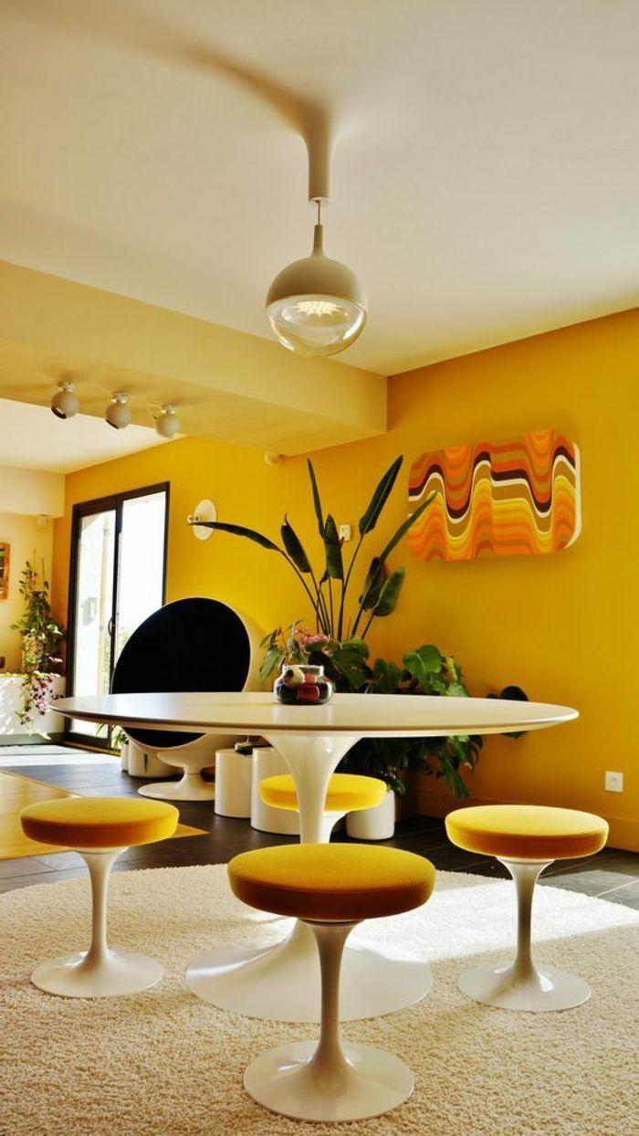 La chaise tulipe – emblème du design des années cinquante – Archzine.fr
