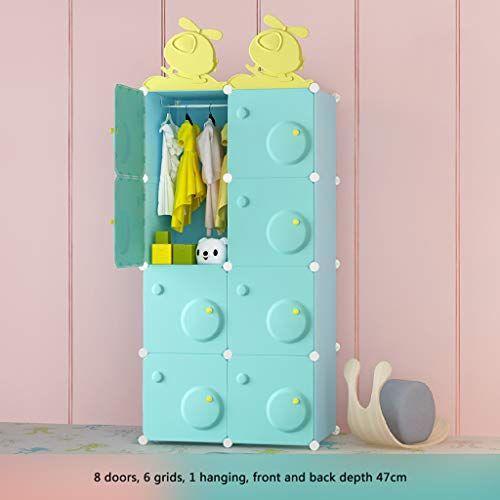 La garde-robe vide de temps ultra vêtx la penderie portative placard d'organe de stockage modulaire…
