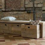 Le banc de rangement - un meuble fonctionnel qui personnalise le décor - Archzine.fr