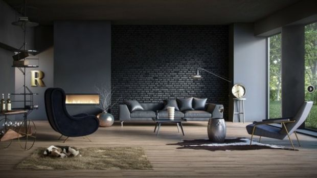 Le canapé au design tendance convient à un salon sublime #couch #design #vivre #sublime #s …