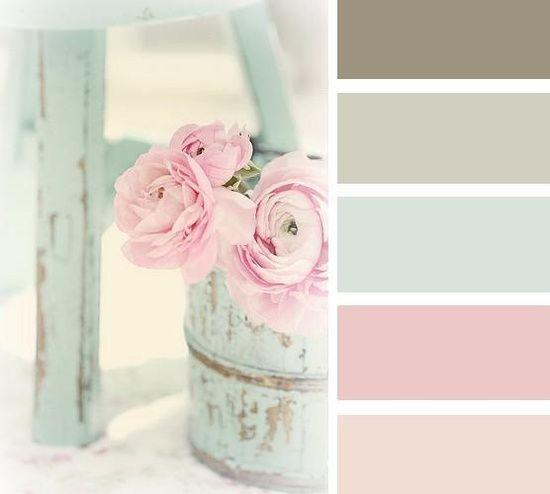 Le mobilier Shabby Chic et ses couleurs – 23 idées et exemples