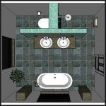 Les 12 meilleures idées de design d'aménagement de salle de bain - # Salle de bain # Design #Idées #Layout #onabudg ...