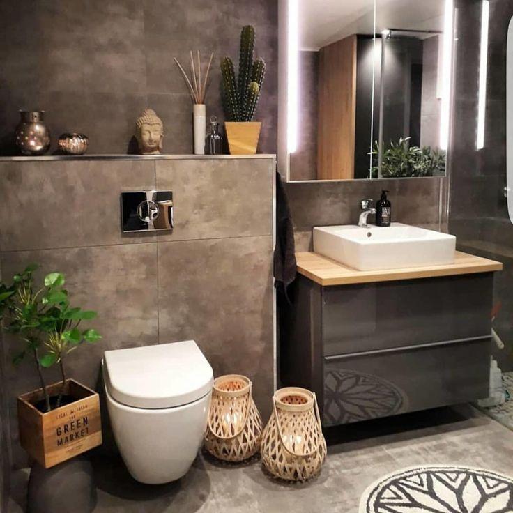 Les 38 idées les plus populaires de design de salle de bain qui changeront en 2019 …