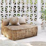 Les nouvelles chaises longues surdimensionnées Masekela d'Uniqwas en jacinthe d'eau durable - #de ...