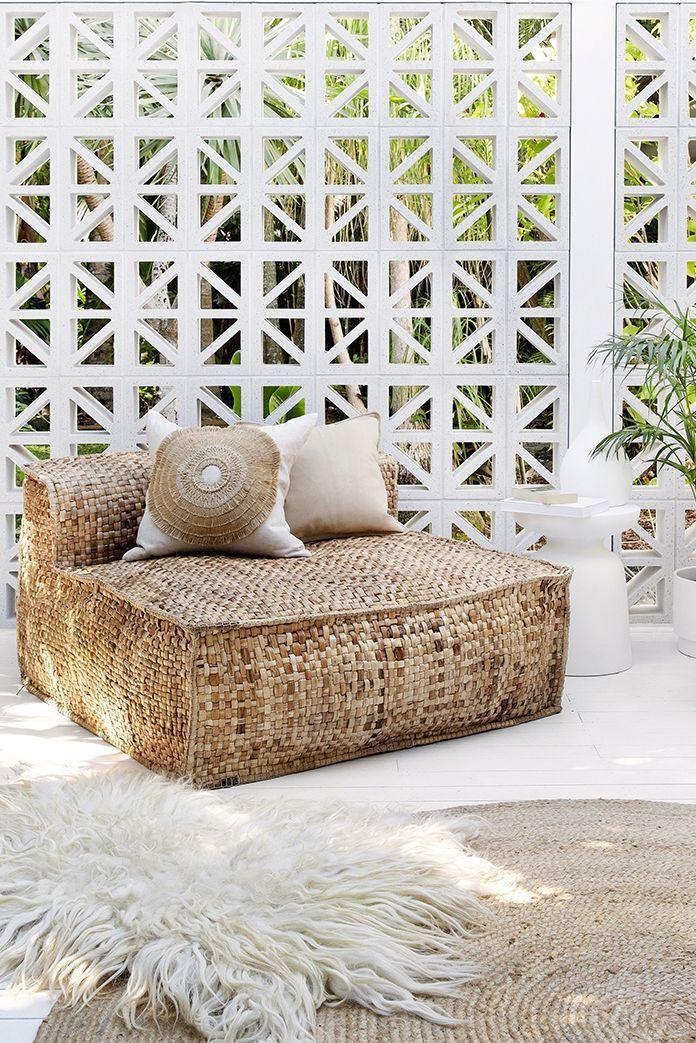 Les nouvelles chaises longues surdimensionnées Masekela d'Uniqwas en jacinthe d'eau durable – #de …