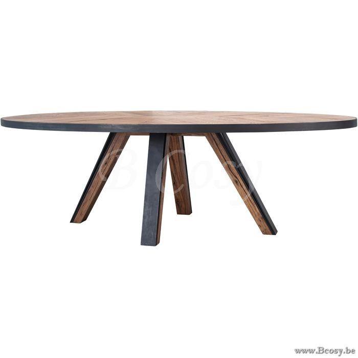 Lifestyle Ovale Ovale Macon Table à Manger en Bois Ovale 250Cm | Style de vie94 Macon-Din …
