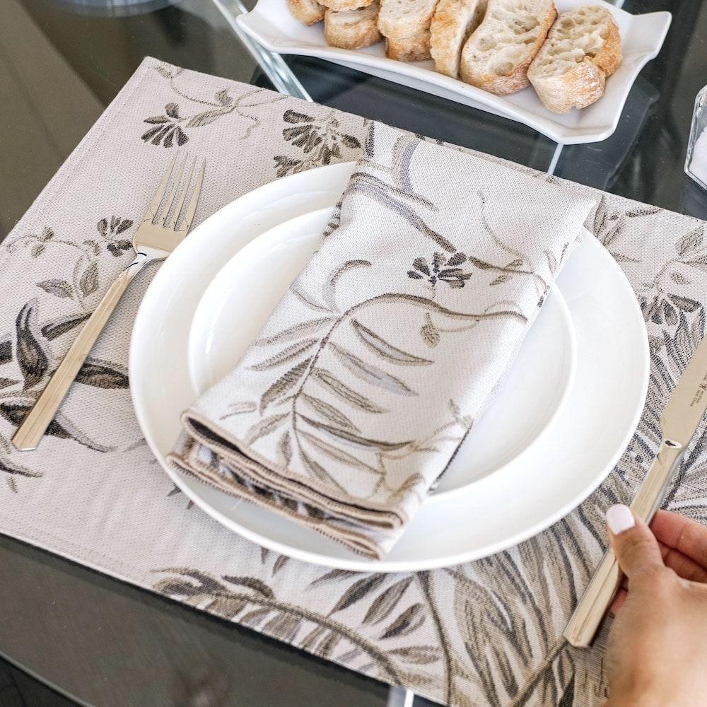 """Linen Chest Linges De Table «dorado» – Chemin De Table – 90″"""""""
