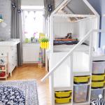 Lit de maison Bricolage - Instructions pour construire un hack IKEA KURA avec des escaliers - Milfcafé