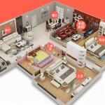 Lit de tatami intelligent de fabricant de meubles de chambre à coucher avec la fonction ...