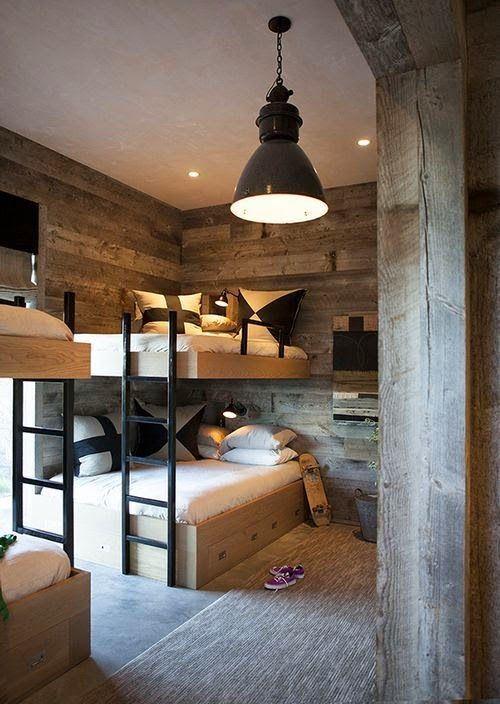 Lit mezzanine dans la chambre d'enfants – 100 lits superposés pour enfants