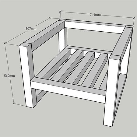 MAISON MAISON Bricolage | Rassembler chaise moderne bricolage