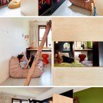 MAKE ont collaboré avec Tanguy Le Moing pour créer un lit superposé qui sépare ...