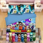 Magasin en ligne Japonais Anime Ensemble de literie Dragon Ball Conan Twin Queen King Size ...