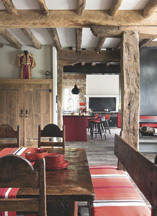Maison de famille au Pays basque : une ancienne ferme rénovée avec brio