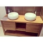 Meuble salle de bain JAVA en teck 120 cm