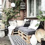 Meubles de palettes de terrasse - Balcon Garden 100